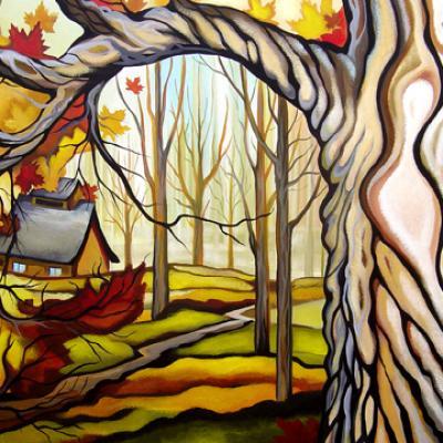 Beauté d'automne, 24x36 po