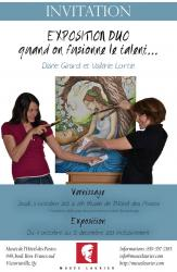 Exposition Duo «Quand on fusionne le talent...»