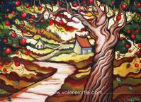 Carte 5 x 7 Plénitude d' automne