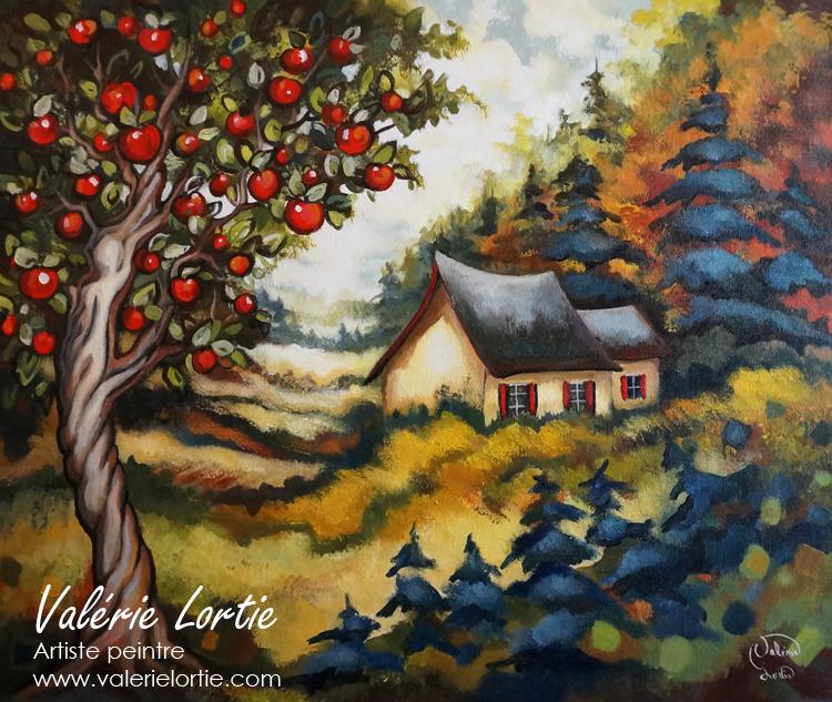 Souvenir d'automne, 20 x 24po