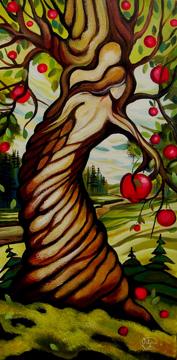 Adam et Ève, 12x24 po