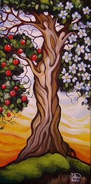 Quand l'amour porte fruit... 8x16 po