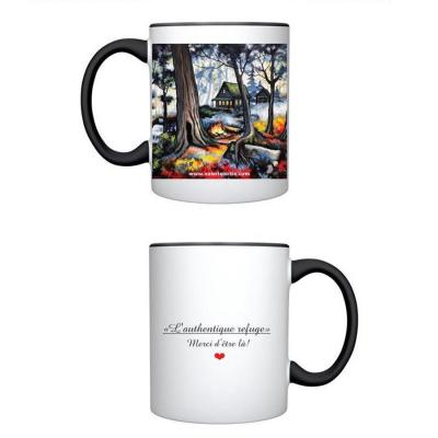 L'authentique refuge tasse 11 oz