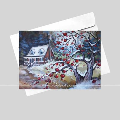 Douceur hivernale 5 x 7in